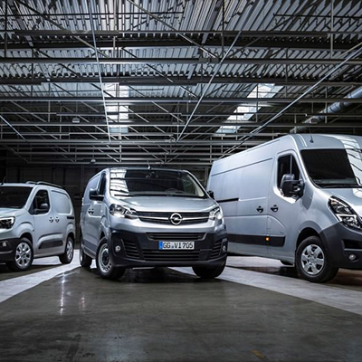 Opel Light Commercial Vehicles - German Tools That Drive Your Business